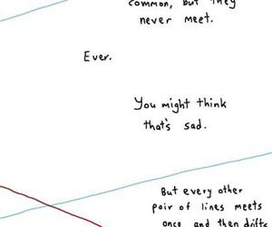 sad, lines, and quotes image
