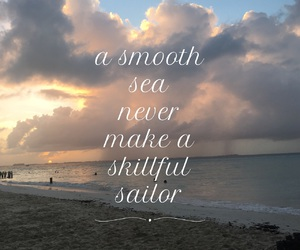 beach, motivational, and phrases image