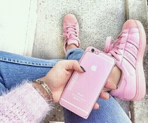 fashion, phone case, and pink image