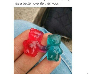 candy, funny, and gummy bears image
