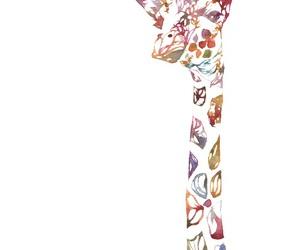 giraffe, animal, and wallpaper image