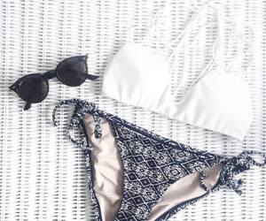 bikini, summer, and fashion image