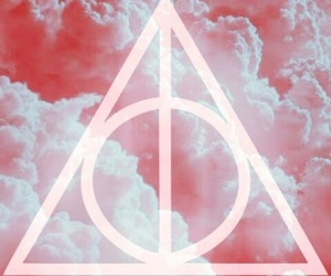 harry potter, background, and pink image