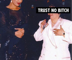 selena, bitch, and trust image
