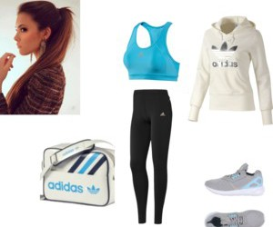 adidas, Polyvore, and sports image