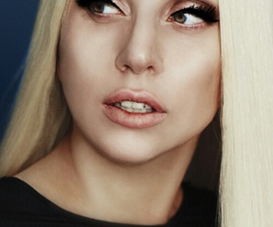 Lady gaga, music, and Versace image