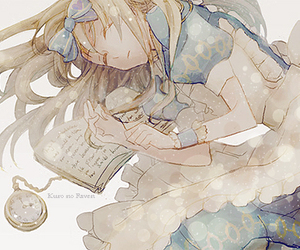 alice, anime, and clock image