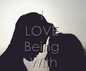 couple, you & i, and love image