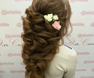 fashion, hair, and updo image