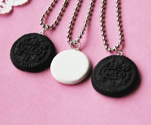 oreo, bff, and necklace image