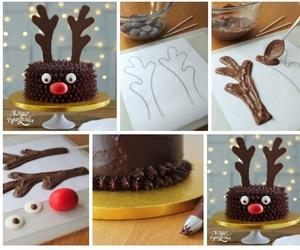 cake, diy, and christmas image