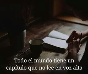 books, coffee, and frases image