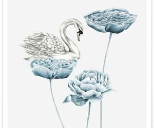 birds, creative, and drawing image