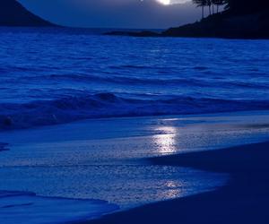 beach, blue, and sea image