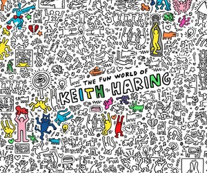 artiste and keith haring image