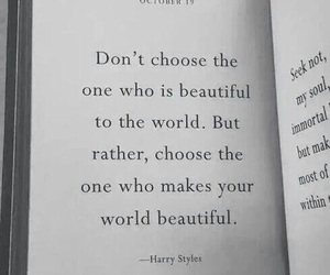 Harry Styles, quotes, and book image
