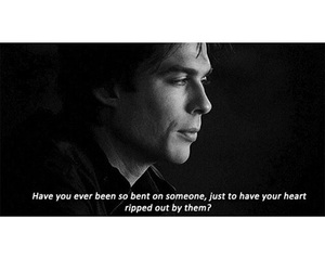 damon, sad, and tvd image