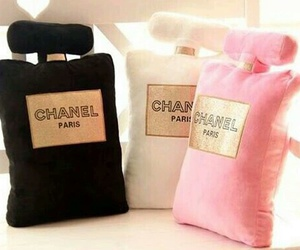 chanel, pillow, and pink image