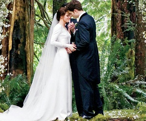bella cullen, twilight, and wedding image