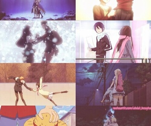 naruto, noragami, and your lie in april image