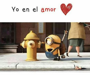 amor, humor, and minions image