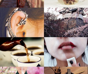 aesthetic, fairytale, and mulan image