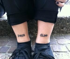 paradise, tattoo, and grunge image