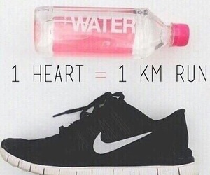 heart, Just Do It, and run image