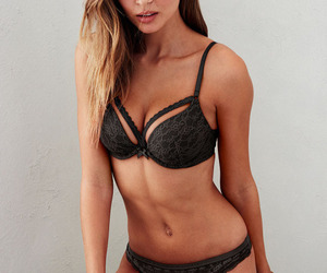 angels, josephine skriver, and lingerie image