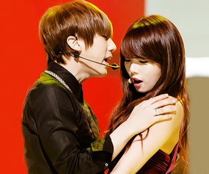 couple, beast, and korean image