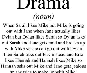 drama, funny, and lol image