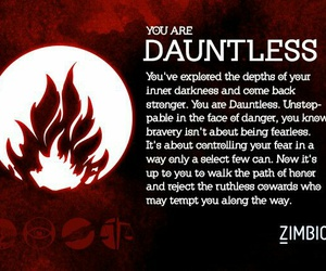 divergent, dauntless, and brave image
