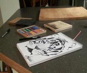 animal, art, and artist image