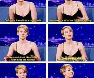 funny, Jennifer Lawrence, and lol image