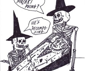 funny and skeletons image