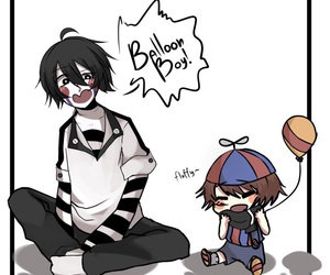 bb, boy, and puppet image