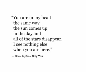 quote, heart, and poem image
