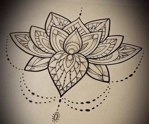 tattoo, art, and drawing image