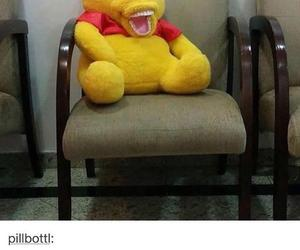 funny, winnie the pooh, and wtf image