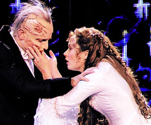 The Phantom of the Opera, real beauty, and love image