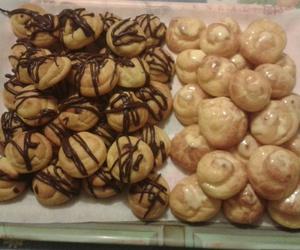 sweets, bigne, and cioccolato image