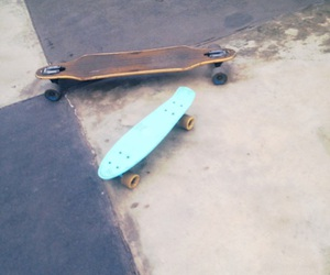 longboard, skate, and penny board image
