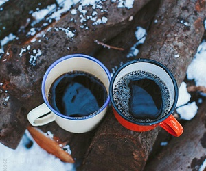 coffe, winter, and perfect image