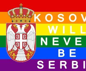 balkan, balkans, and fuck serbs image