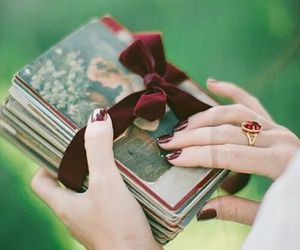 vintage and book image