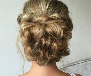 beauty, blonde, and hairstyles image