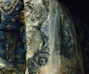 art, dress, and painting image