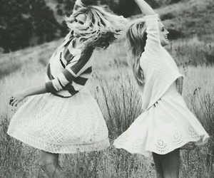 dance, best friends, and girls image