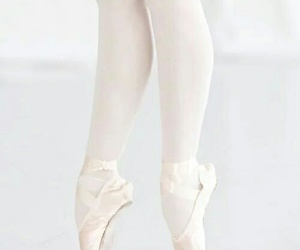 ballet, white, and dance image