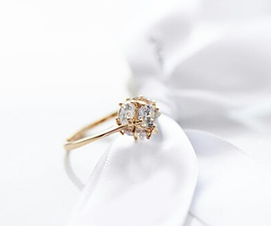 in love, ring, and ​beatiful image